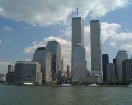 World_trade_center_new_york_city_from_hudson_august_26_2000