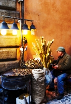 Chestnut Roaster, Rome