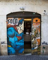 Burgershop Superman, Rome. 2015